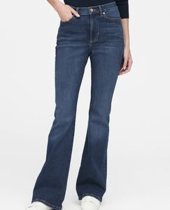NWOT Banana Republic Wide-Leg Bootcut  Tall Jeans